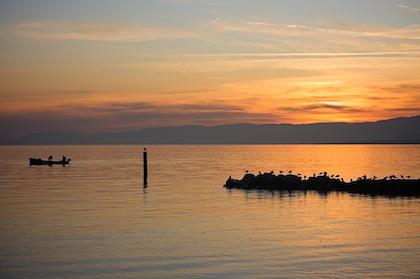 Lake Geneva from Lausanne (Waterstink.com)