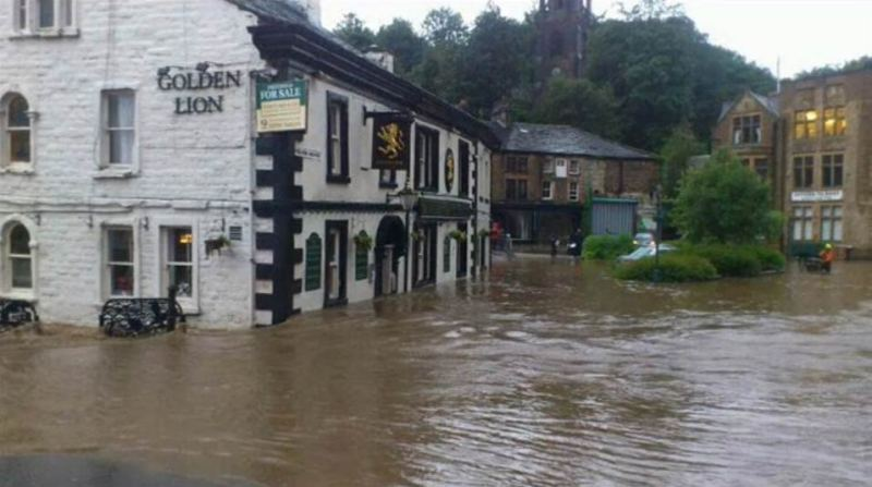 Photo: The Golden Lion, Todmorden (Source: Todmorden News).