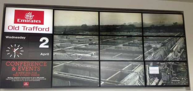 Photo: A historical shot of Davyhulme from the conference displays.