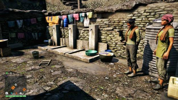 Photo: Water taps in the game Far Cry 4.