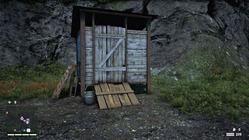 Photo: A probable toilet in Far Cry 4.