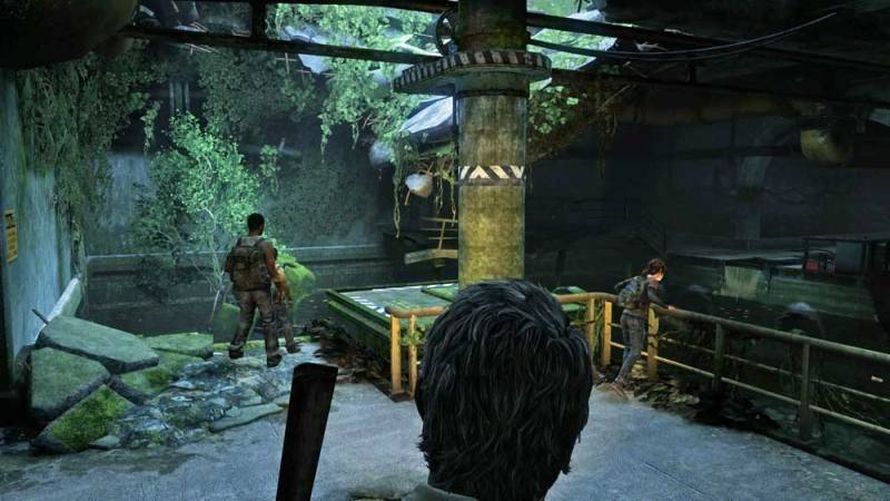 Photo: Some kind of giant underground storm drain/sewer chamber in The Last Of Us.