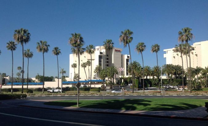 Photo: Venue for the Coursera conference, Newport Beach, California.