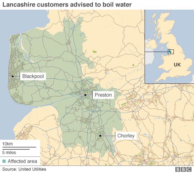 Photo: Lancashire area affected by the August 2015 UU crypto outbreak. Source: UU/BBC.
