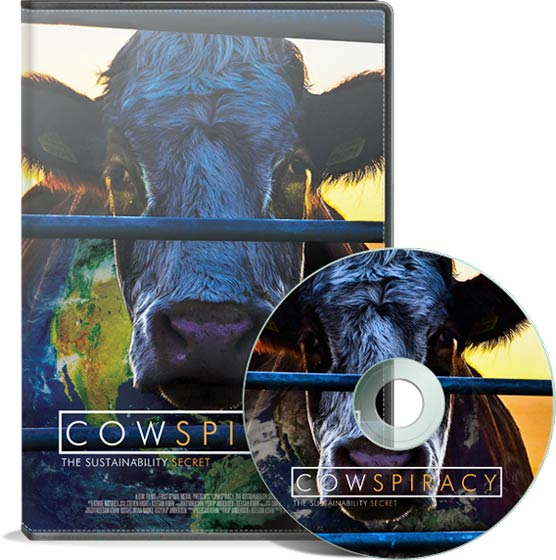 Photo: Cover materials for the Cowspiracy documentary. Source: Cowspiracy.com.